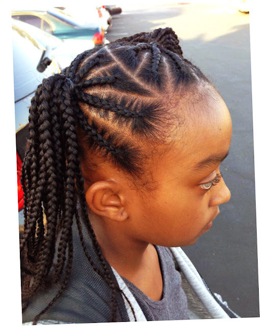 Picture of Cute African American Braided Hairstyles
