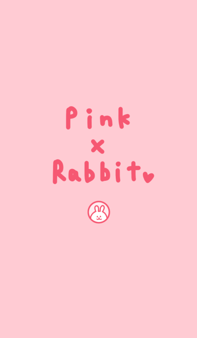 pink and rabbit