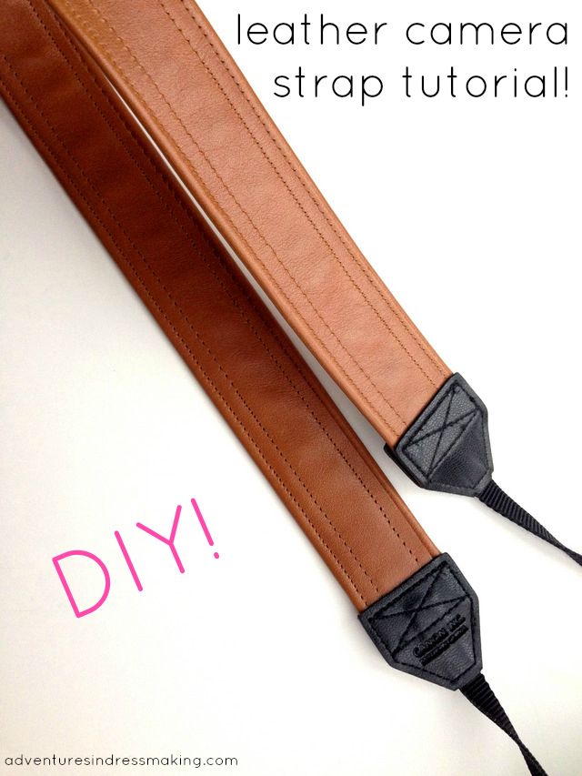 Easy DIY leather camera strap tutorial and Leather Hide ...