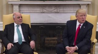 ترامب إلى عبادي: أعطونا النفط مقابل الإنفاق العسكري الأمريكي في حرب العراق