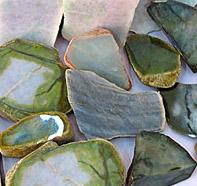 rough jade colors