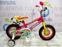 Sepeda Anak Avand Dino Girl 12 Inci