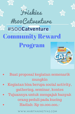 Friskies #500Catventure Community Reward Program