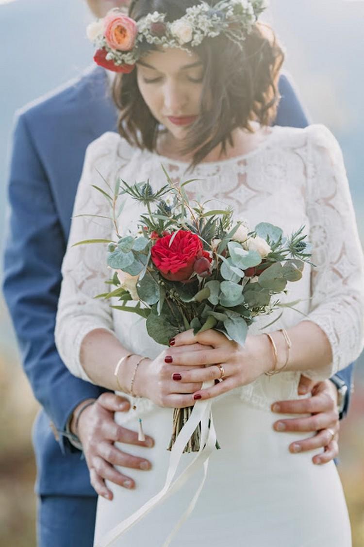 Bouquet de mariée, bridesbouquet, French wedding style, Lyon wedding florist