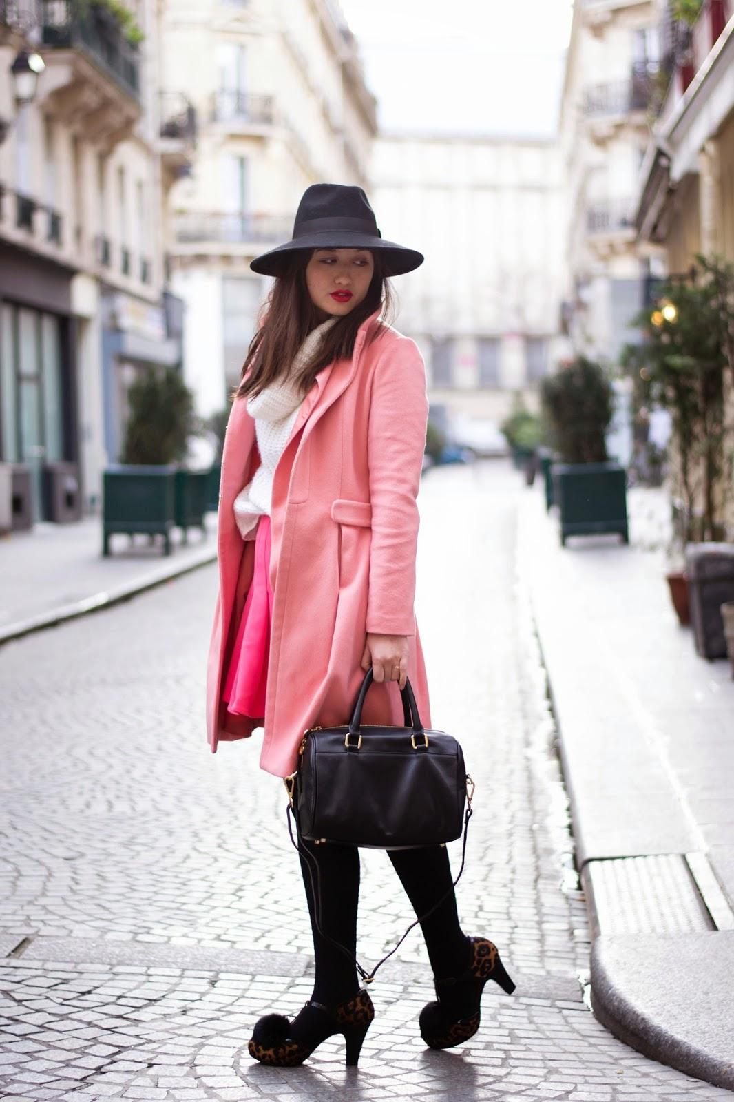 全粉红色外观