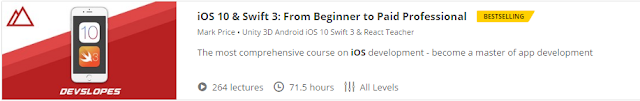 iOS 10 & Swift 3: From Beginner to Paid Professional