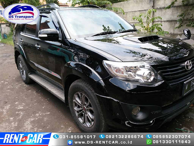 Sewa/Rental Mobil Fortuner Surabaya Plus Sopir 12 Jam/Fullday