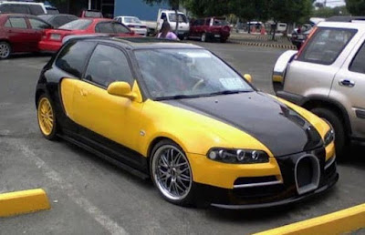 Réplica cutre Bugatti Veyron