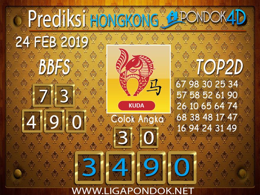 Prediksi Togel HONGKONG PONDOK4D 24 FEBRUARI 2019
