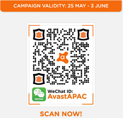 Avast Wechat QR Code