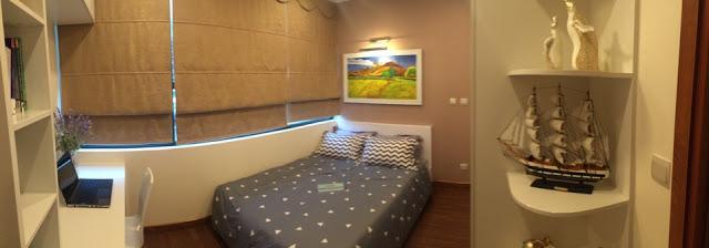 Phòng Ngủ Hoàng Cầu Skyline