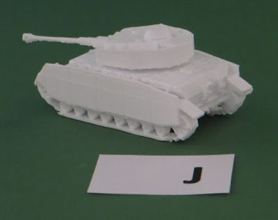 Ausf J,      Similar to H, with some minor features missing and a new exhaust