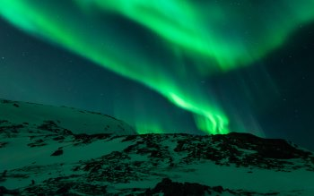 Wallpaper: Aurora Borealis in Norway