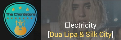 ELECTRICITY Guitar Chords ACCURATE | Dua Lipa & Silk City
