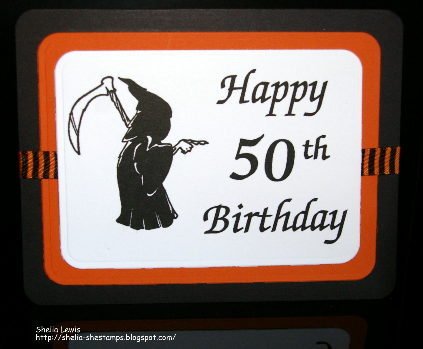 Drs designs rubber stamps happy 50th when i saw drs designs new grim reaper image 963g i knew i had to use it to make a birthday card for my friend bookmarktalkfo Image collections