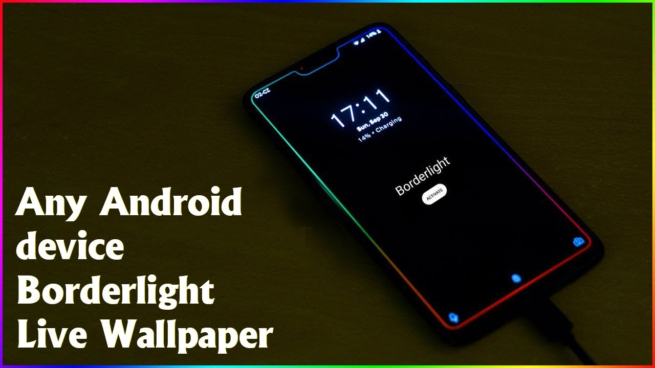 Borderlight Live Wallpaper APK app gives Android devices a ...