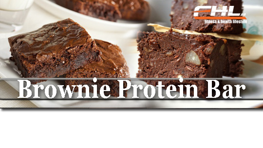 Brownie Protein Bar приготвяне, лесна рецепта - рецепти за протеинови барове