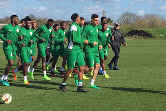 Iwobi, Iheanacho, Odey, 22 others in Rohr's squad for France camp