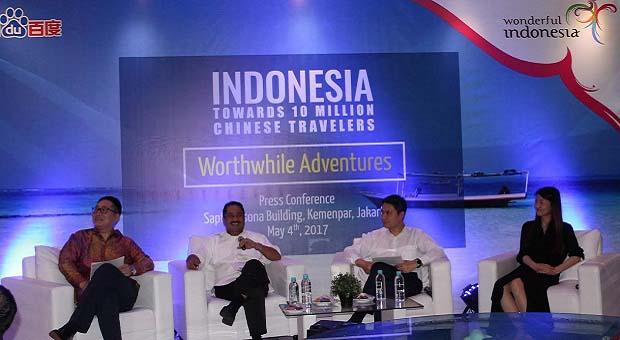 Wisatawan Tiongkok Kian Terpikat Pesona Indonesia