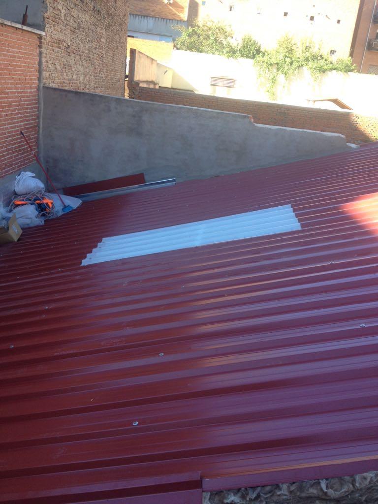 Chapa trapezoidal precio increible montadores de techos for Chapas para tejados precios