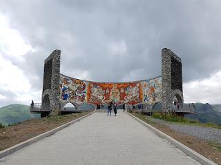 Monumento a la Amistad entre Georgia y Rusia