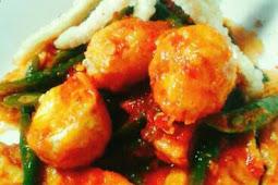 Sayur Kacang Campur Tahu dan Telur Puyuh