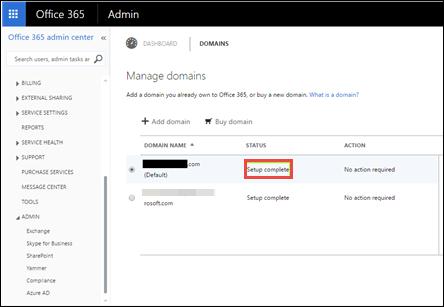 set up domain name