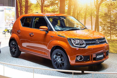 New 2016 Maruti Suzuki Ignis side look