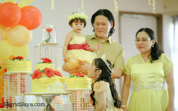Belle birthday cake - Bacolod birthday cake - Bacolod Cupcake Cafe