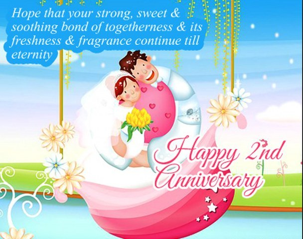Happy Wedding Anniversary Wishes to Friend
