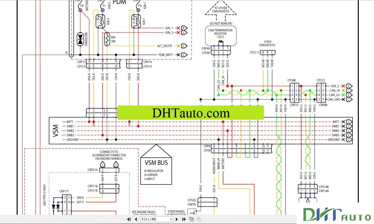 hyster wiring diagrams wiring diagram all Hyster Forklift S50XM Wiring-Diagram
