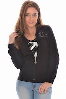 Jacheta PUMA pentru femei GRAPHIC SWEAT JACKET - FLEECE