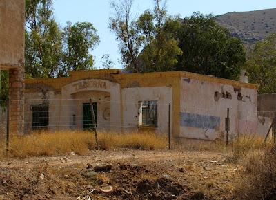Taberna en el antiguo poblado minero de Rodalquilar