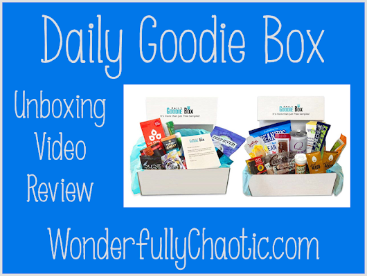 Daily Goodie Box Unboxing