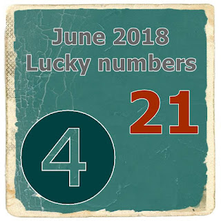 June 2018 Lucky numbers by day Horoscope Numerology