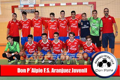 Fútbol Sala Don Palpie Aranjuez