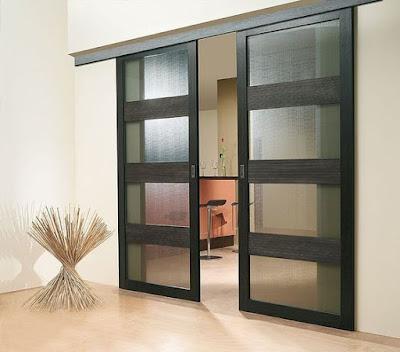 60 Desain Pintu Geser Sempurna Untuk Ruang Sempit