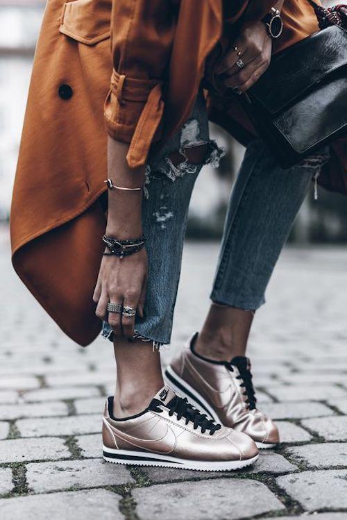 ba2b0e05435 Ideas de cómo combinar las zapatillas Nike Cortez para arrasar con ...