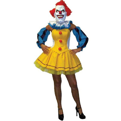 Pennywise Clown Women's Costume with Skirt