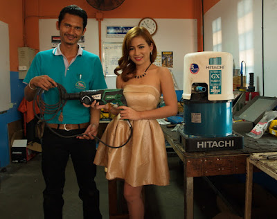 Buriram Authorized Hitachi Water Pump Repair Service Center Technician