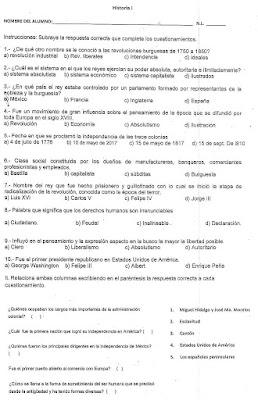 examen historia segundo bloque 2