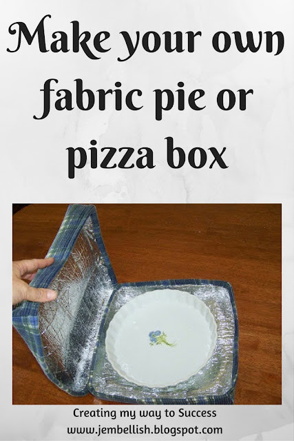 Fabric Pie or Pizza Box