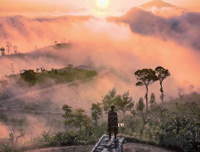 Nikmati lanskap Magelang dari ketinggian di Gardu Pandang Silancur