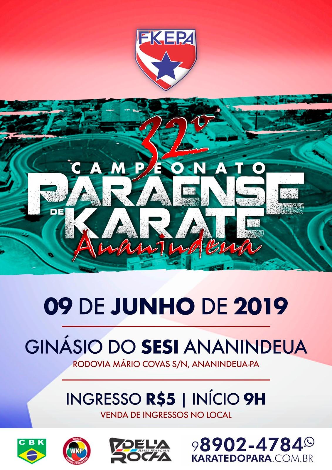 Campeonato Paraense de Karate - 2ª Etapa