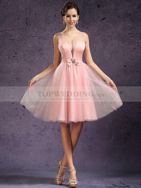 vestido de cóctel low cost