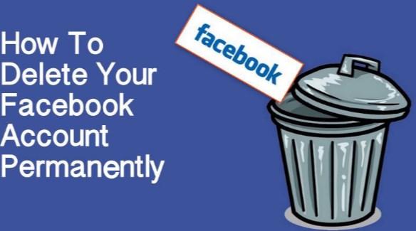 Permantely Delete Facebook