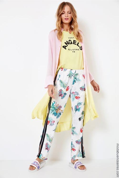 Pantalones primavera verano 2019. Moda primavera verano 2019.
