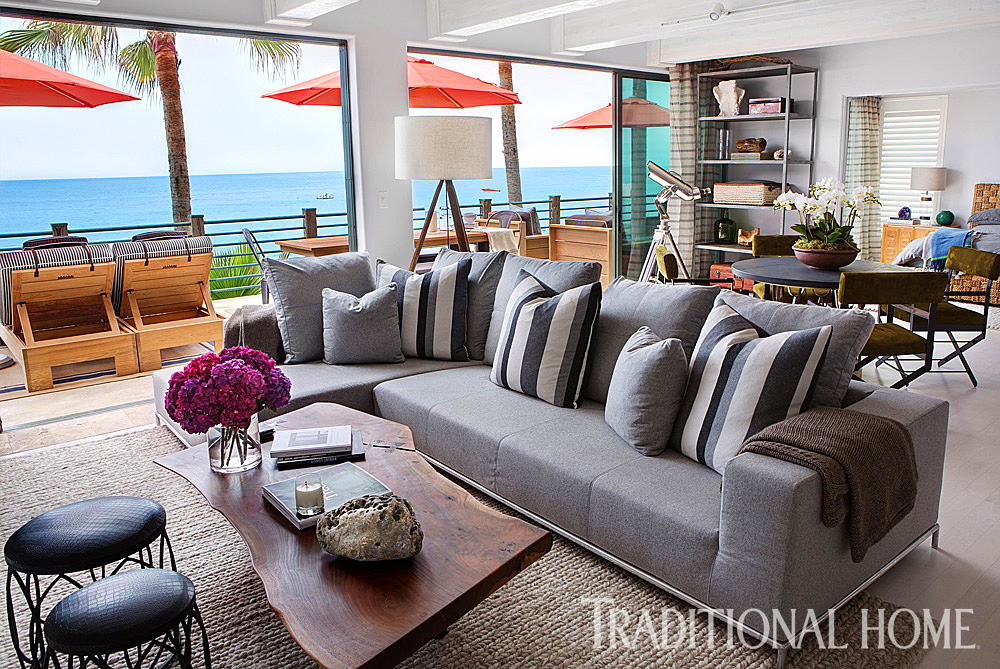 And One More From Tim Clarke   Super Soft Slipcovers Are Essential To  California Beach Homes! Source: Coastal Living