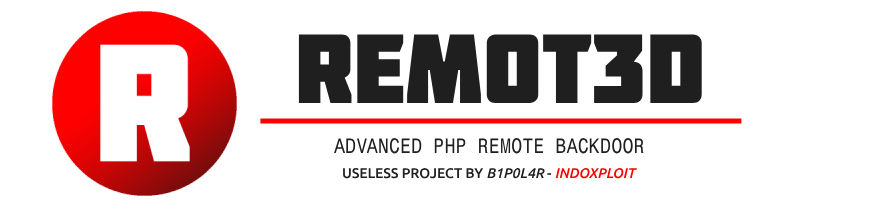 REMOT3D - Advance PHP Remote Backdoor