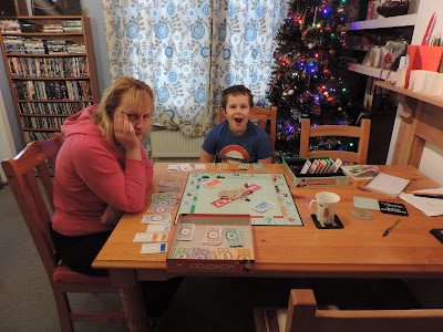 christmas board game monopoly